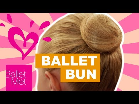 HOW TO DO A PERFECT BALLET BUN 💗 JUSTICE