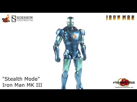"Hot Toys Die-Cast Iron Man MK III ""Stealth Mode"" Video Review"