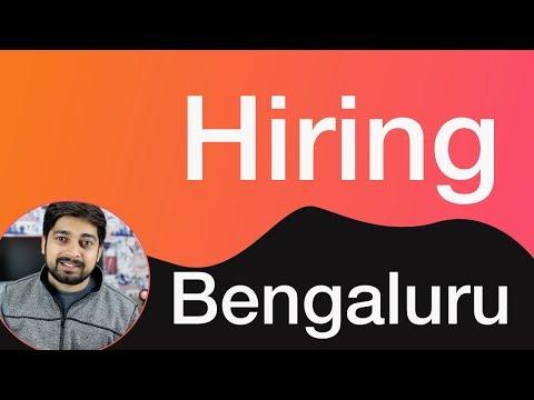 Hiring JS Developer - Bengaluru
