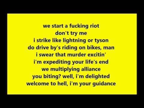 $UICIDEBOY$ X GERM - SLIP ON BANANA CLIP (LYRICS)
