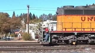 Union Pacific helpers at Colfax