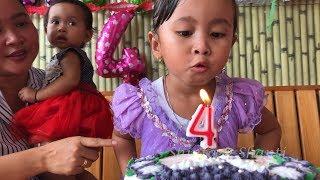 Perayaan Ulang Tahun Shanti Ke 4 di Rumah - Kids Birthday Party.mp3