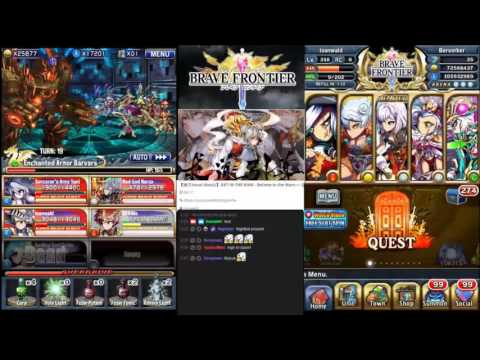 Brave Frontier Global - Summoner Arc - The Land's Center - Rokkzalm Boss battle