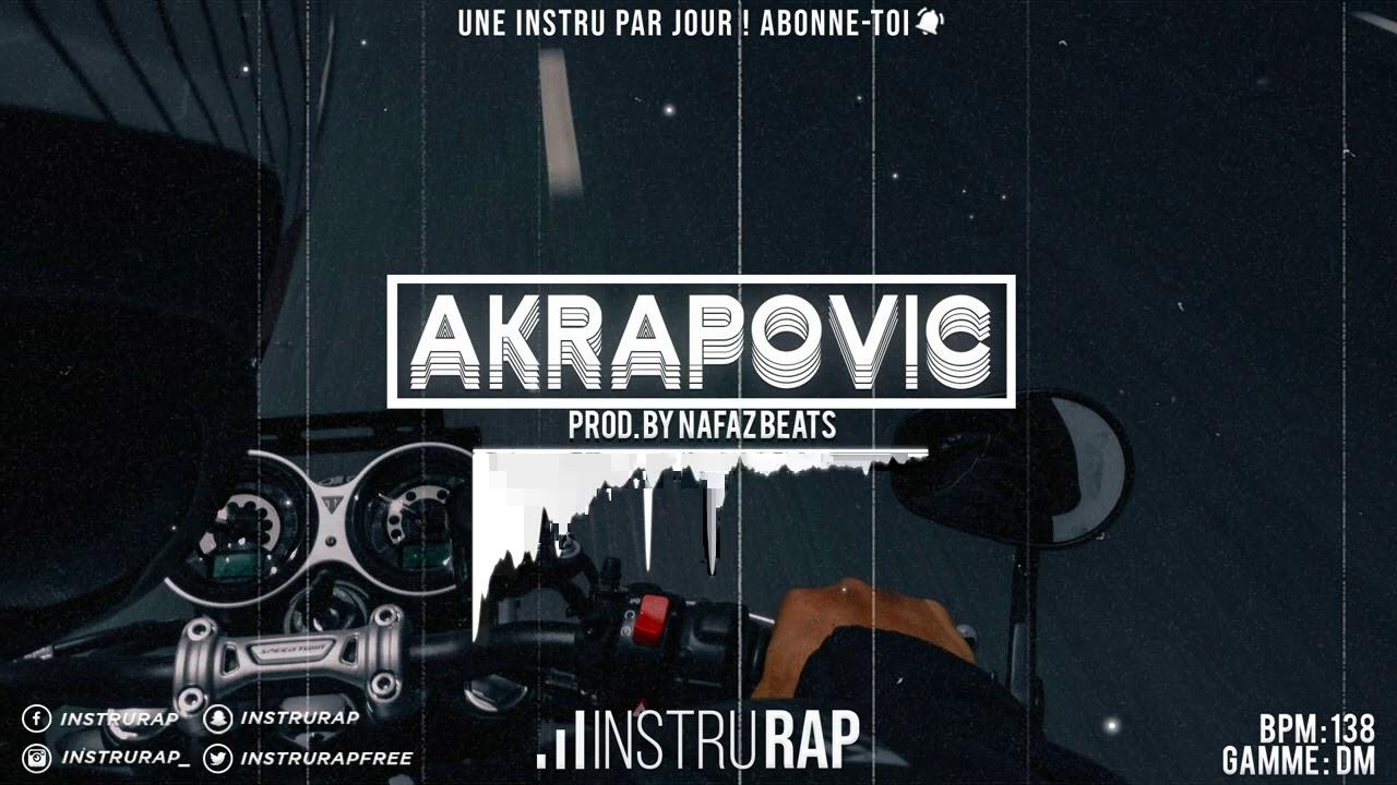 Download Instru Rap Trap/Lourd   Instrumental Rap Piano - AKRAPOVIC - Prod. By NAFAZ BEATS
