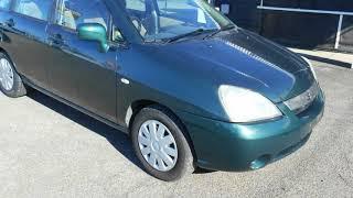 2001 Suzuki Liana Green 5 Speed Manual Wagon