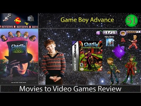 Movies to Video Games Review -- Charlie and the Chocolate Factory (GBA)