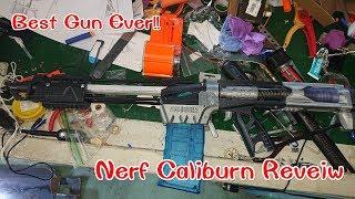 Nerf Caliburn First Build :ปืนเนิร์ฟทำเองกระบอกแรกในไทย !!