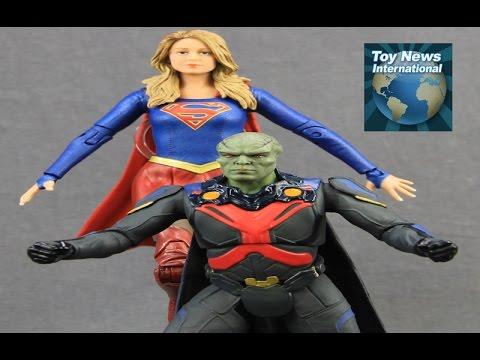 "DCTV Supergirl TV Series 7"" Martian Manhunter Figure Review"