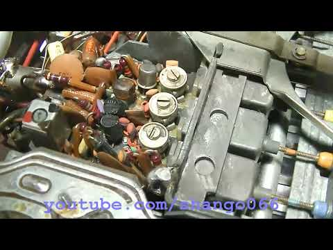Becker Europa MU Solid State Car Radio FM Repair