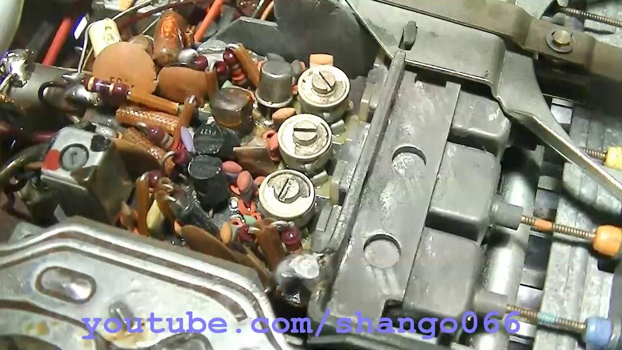 Becker Europa MU Solid State Car Radio FM Repair