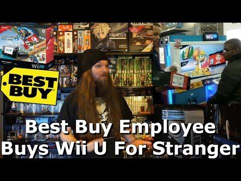 Best Buy Employee Buys Wii U For Stranger - AlphaOmegaSin