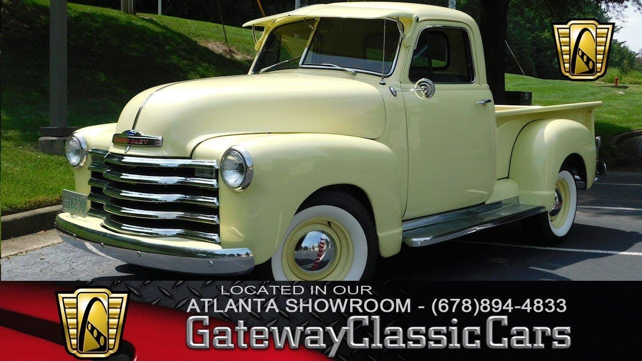 1951 Chevrolet 3100 - Gateway Classic Cars of Atlanta - Stock #862-ATL
