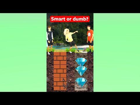 SMART or DUMB? 😂 #shorts