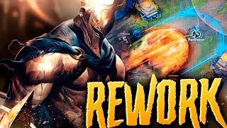 REWORK PANTHEON ¡LA ULTIMATE MÁS ÉPICA DE LA HISTORIA! (Habilidades y Gameplay)