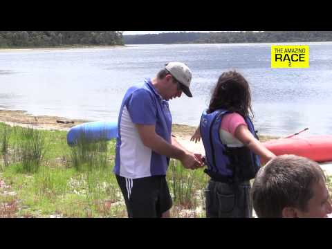 The Amazing Race comes to Lake Tyers
