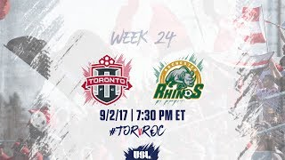 Toronto FC USL vs Rochester Rhinos full match