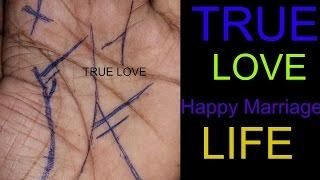 palmistry, true love(happy marriage life)