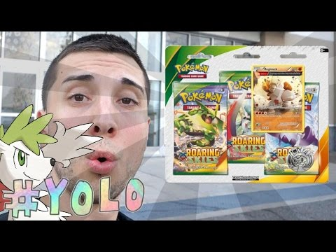 Pokemon Cards - YOLO Packs Shaymin EX Hunting! [Toys R' Us]
