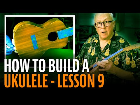 How To Build A Ukulele, Lesson 9: APPLYING THE FINISH