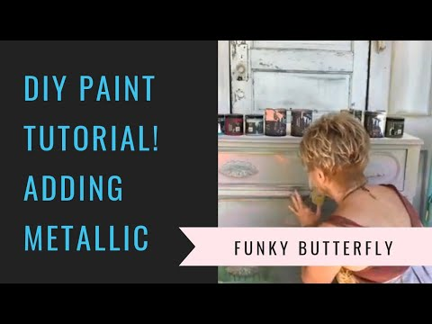 DIY Paint Tutorial Adding Metallics