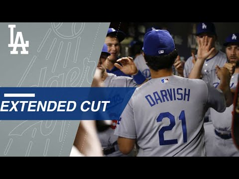 Watch the big moments from Yu Darvish NLDS Gm3 start