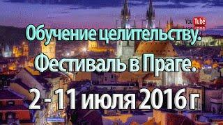 Обучение целительству. Профессиональный уровень. 2 - 11 июля 2016 о практическом фестивале в Праге