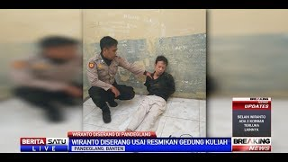 Dua Penyerang Wiranto Diduga Terpapar ISIS