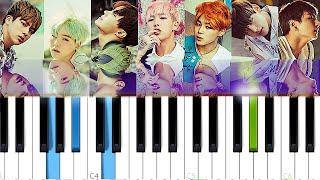 Download Lagu BTS - Run | Piano Tutorial mp3