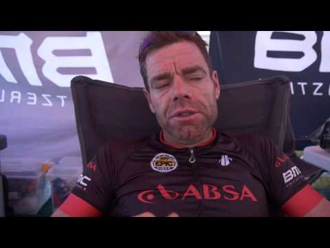 Stage 6 Cape Epic Cadel Evans and George Hincapie