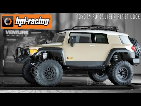 HPI VENTURE FIRST LOOK - Toyota FJ Cruiser
