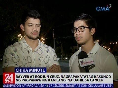 Rayver at Rodjun Cruz, nagpapakatatag kasunod ng pagpanaw ng kanilang ina dahil sa Cancer