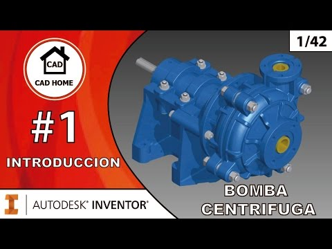 1.  Introducción – Proyecto Bomba Centrífuga – Autodesk Inventor