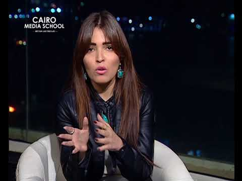 "Soha Magdy -  Presenting Talk Shows November Workshop "" Mohamed ElDesouky """