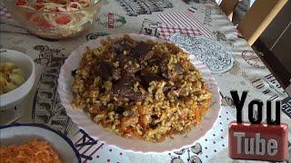 Готовим Узбекский плов дома- пошаговый подробный рецепт.