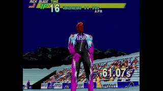 Winter Heat - Sega Saturn - Gameplay