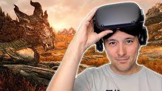 Kann die Oculus Quest eine PC VR Brille ersetzen? SteamVR Streaming mit Virtual Desktop ausprobiert!