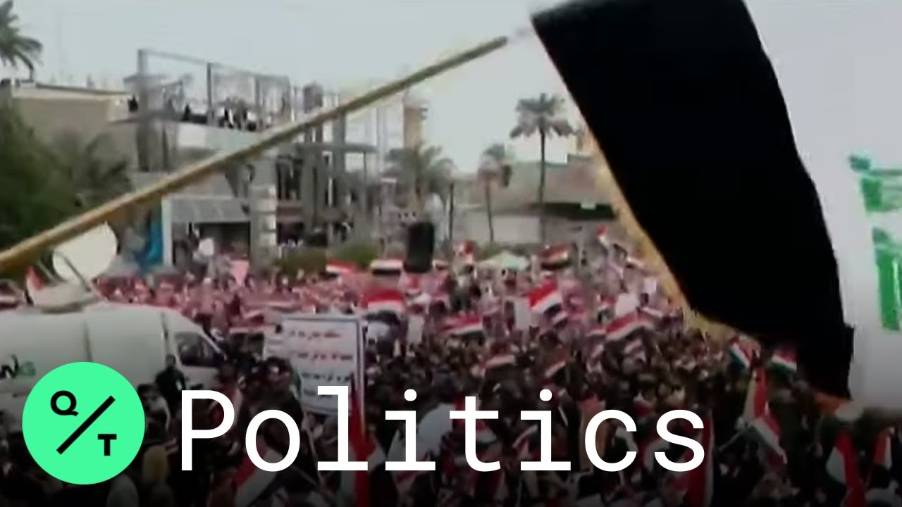 Iraq Anti-government Protests in Baghdad