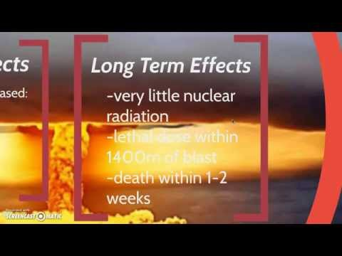 Thermonuclear Bombs and Neutron Bombs