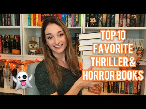 TOP 10 FAVORITE THRILLER/HORROR BOOKS