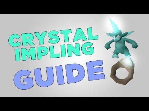 AFK Method Of Hunting Crystal Implings (OSRS) 20+ PER HOUR