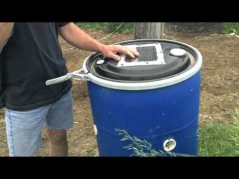 """Innovations on an Organic Dairy: """"The Fly Barrel"""""""