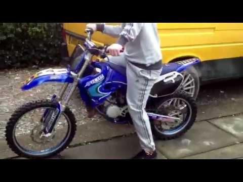 2004 Yz85 start up-christmas present 2011 - YouTube