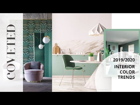 Interior Color Trends 2019 Coveted Magazine Youtube