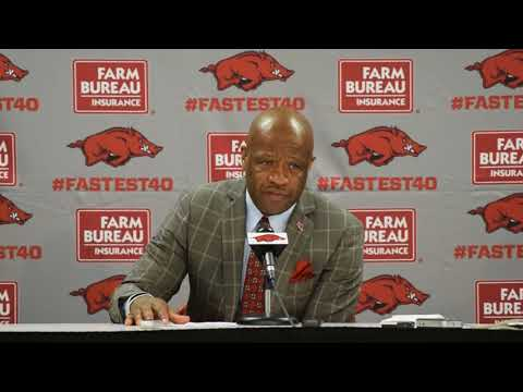 Arkansas coach Mike Anderson after win over Minnesota