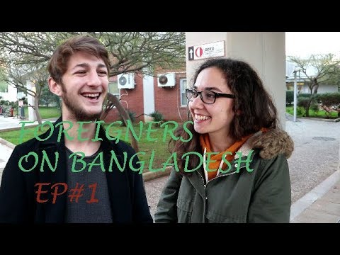 What do Turkish & British People think about Bangladesh l Foreigners on Bangladesh EP#1 l AlviTVBD