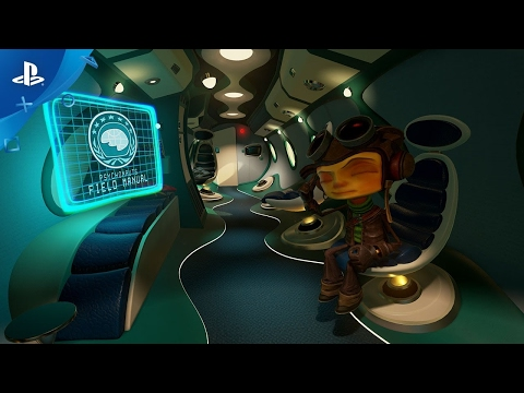 PlayStation 4 PRO Psychonauts in the Rhombus of Ruin   360 View Trailer   PS VR