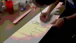 Painting My Longboard