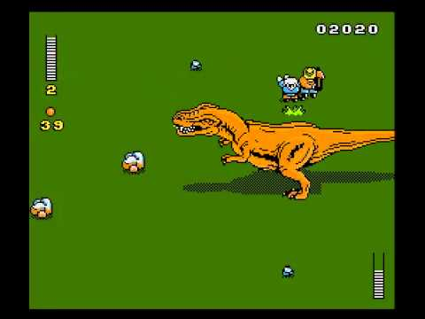 Jurassic Park (NES video game) Let39s Play Jurassic Park NES 6 Predictable Ending YouTube
