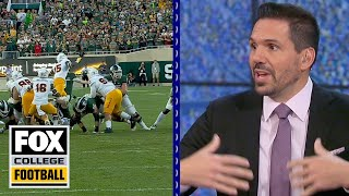 Missed call denies Michigan State game-tying FG attempt, Dean Blandino says | FOX COLLEGE FOOTBALL