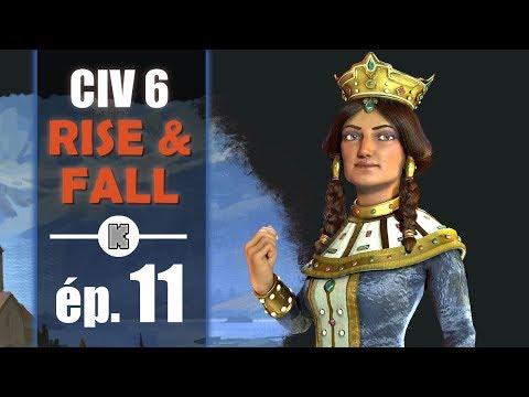 [FR] Civilization 6 RISE AND FALL Géorgie let's play ép 11